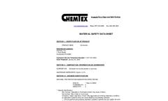 CHEMTEX - Model OIL052 - Vermiculite Absorbent Granulars - SDS Brochure