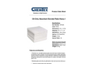 CHEMTEX - Bonded Meltblown Pads & Rolls Brochure
