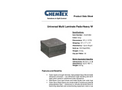 CHEMTEX - SMS, Laminated Universal Pads & Rolls Brochure