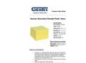 CHEMTEX - Bonded Meltblown Hazmat Absorbents Brochure