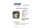 CHEMTEX - General Purpose Cellulose Based Absorbents Brochure