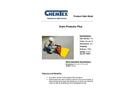 Chemtex - Model OIL835 - Drain Protector Brochure