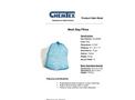 CHEMTEX - Model OILM3598 - Oil Only Mesh Bag Pillow Brochure