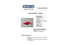 Chemtex - Model OIL810 - Red Square Reversible Drain Cover Brochure
