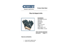 CHEMTEX - Model GLO1049 - Blue Full Dipped Nitrile Glovesw / Safety Cuff Brochure