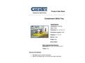 Chemtex - Model CON0142 - Containment Utility Tray Brochure