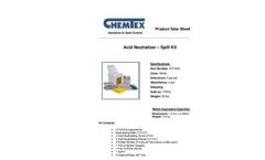 Chemtex - Model KIT1050 - Acid Neutralizing Spill Kit Brochure
