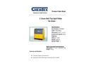 Chemtex - Model CON3007 - 2 Drum Roll Top Spill Pallet Brochure