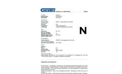 Chemtex - Model OILM7094R - Large Spill Cart On Wheels, Hazmat Refill - Brochure