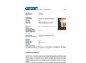 Chemtex - Model OILM7092 - Large Spill Cart On Wheels , Oil Only - Brochure