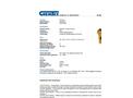 Chemtex - 55 Gal Oil Only Spill Kit - Brochure