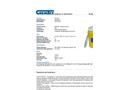 Chemtex - Model OILM7054 - 30 Gal Oil Only Spill Kit - Brochure