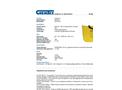 Chemtex - Model SKYB-U - High Viz Bag Spill Kit, Universal - Brochure