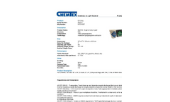 Chemtex - Model SK5-O - 6 Gal Oil Only Spill Kit In Bucket (OIL714) - Brochure