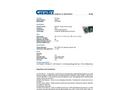Chemtex - Model SKB-O - Poly-Zip Bag and Bucket Kits - Datasheet