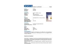 Chemtex - Model OILM7083 - Dock Box Oil Only Spill Kit - Datasheet