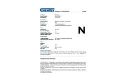 Chemtex - Model OILM7083R - Dock Box Oil Only Spill Kit Refill - Datasheet