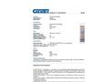 Chemtex Gran-Sorb™ - Model OIL041 - Industrial Absorbent - Datasheet