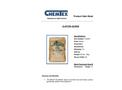 Chemtex Gator-Sorb™ - Model OIL059 - Premium Oil Absorbent - Datasheet