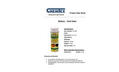 Chemtex - Battery Acid Eater - Datasheet