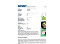 Oil Grabber - Model OG32/6 - Oil Stain Remover - Datasheet