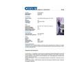 CHEMTEX - Model OILM7322 - Storm Water Drain Guard - Datasheet