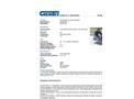 Chemtex - Curb-Inset Drain Guard - Datasheet