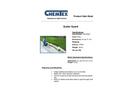 CHEMTEX - Model OILM7327 - Gutter Guard - Datasheet