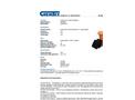 Chemtex - Model KIT8001 - Grab & Go Flood Protection - Brochure