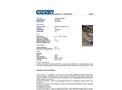 Chemtex - Model OILM7397 - Dewatering Bags - Brochure