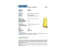 Chemtex - Model SPK95-H-W - Hazmat Spill Kit - Datasheet