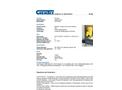 Chemtex - Model SPK50-O-W - Oil Only Spill Kit - Datasheet