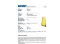 Chemtex - Model SPK95-O-W - Oil Only Spill Kit - Brochure
