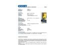 Chemtex - Model OILM7033 - Hazmat Spill Kit - Datasheet