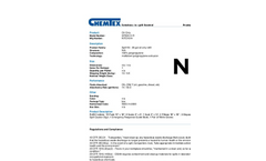 Chemtex - Model SPK20-O-R - Oil Only Spill Kit - Datasheet