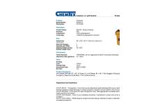Chemtex - Model SPK55-U - Universal Spill Kit - Datasheet