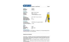 Chemtex - Model SPK30-U and SPK30-U-R - Universal Spill Kit - Datasheet