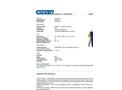 Chemtex - Model SPK14-U and SPK14-U-R - Universal Spill Kit - Datasheet
