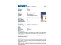 Chemtex - Model OILM7083 and OILM7083-R - Marine Dock Box Spill Kit - Datasheet