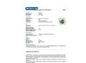Chemtex - Model SKFB-O - Oil-only Foil Spill Kit - Datasheet