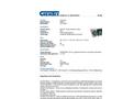 Chemtex - Model SKB-U - Universal Zipper Bag - Datasheet