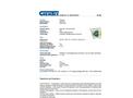 Chemtex - Model SKFB-H - Hazmat Foil Spill Kit - Datasheet