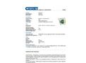 Chemtex - Model SKFB-U - Universal Foil Spill Kit - Datasheet