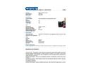 Chemtex - Model WIP6008 - Compressed Brick of Rags - Fleece, Colored (Sweat-Shirt) - Datasheet