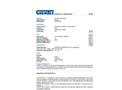Chemtex - Model OIL067 - Perlite Floor Sweep - Datasheet