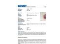 Chemtex - Model OIL903 - Base Neutralizing Polymer, 36 lbs - Datasheet