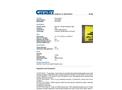 CHEMTEX - Model OILM7096 - 3-D Spill Response Equipment Sign - Datasheet