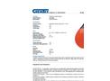 Chemtex - Model OILM088 - Polyfoam Anchor Buoys - Datasheet