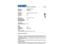 Chemtex - Model OILM089 - Anchor Shackles - Datasheet
