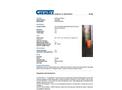 Chemtex - Model OILM267 - Bulk Head Riser - Datasheet